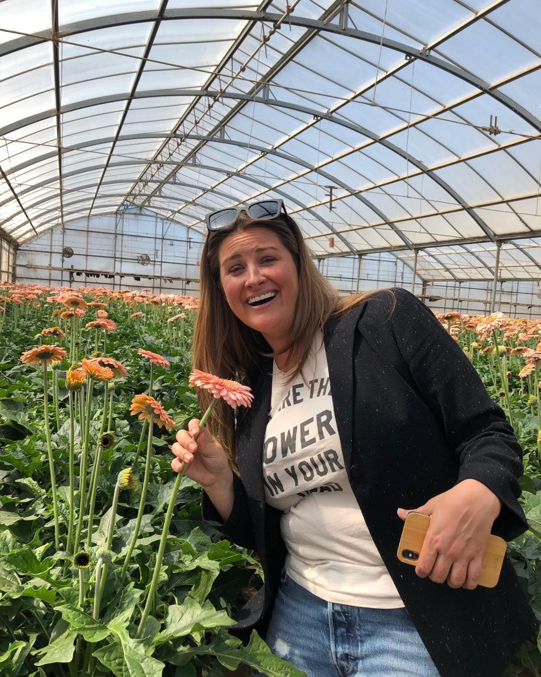 When You Can Get Christina Excited About A Gerbera Daisy You Know You Have A Flower That Rocks In 2020 Gerbera Daisy Gerbera Christina