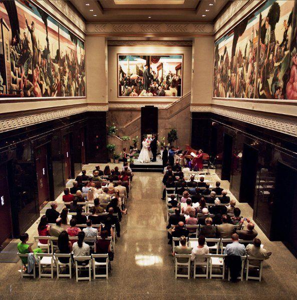 IU Auditorium Wedding VendorsIndiana UniversityReceptionsWeddingsParty Reception