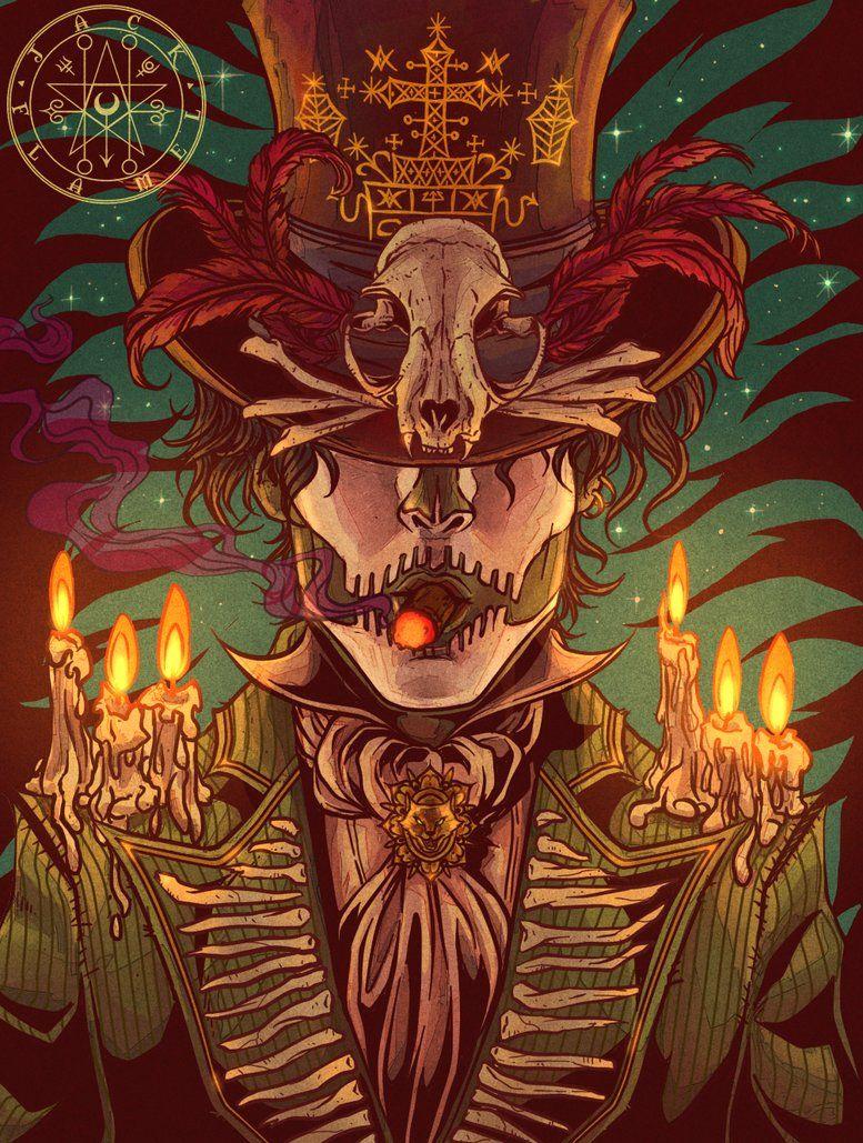Fantasy Baron Samedi Art