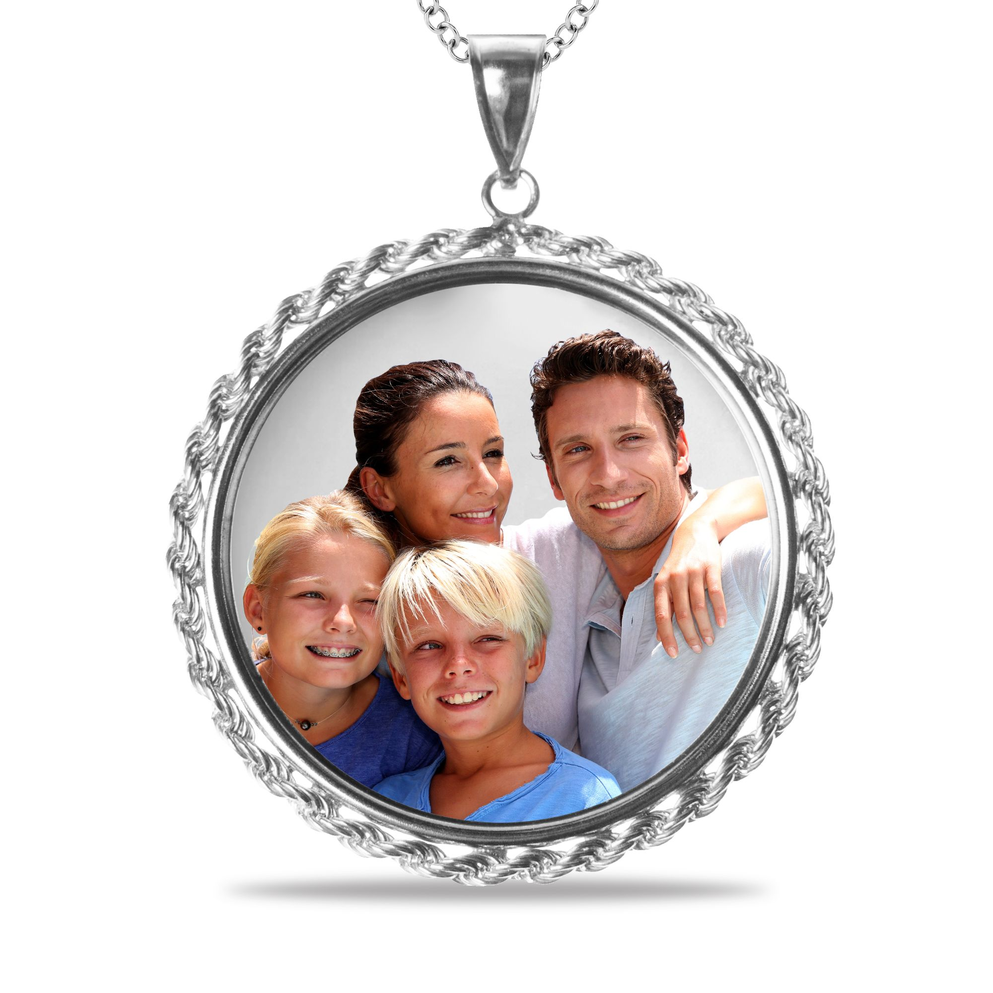 Custom Picture Pendants | Circle pendant, Picture pendant, Sentimental  gifts for mom
