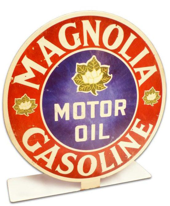 Vintage and Retro Tin Signs - JackandFriends.com - Retro Magnolia Gas Table Topper  8 x 8 Inches, $14.98 (http://www.jackandfriends.com/retro-magnolia-gas-table-topper-8-x-8-inches/)
