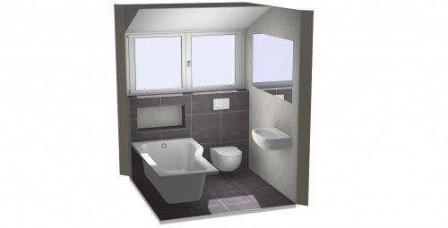 Badkamer Afmetingen Bad : Op zoek naar een voorbeeld van een kleine badkamer met bad bekijk