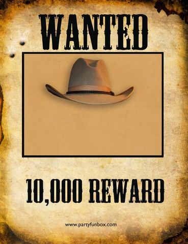 Wanted Poster for those Little Villains ! (PDF) Stick in a - free printable wanted poster