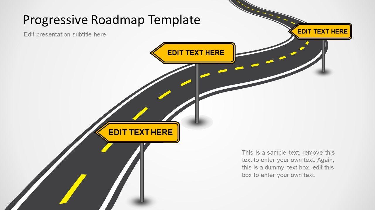 Editable Roadmap Ppt Slides Infographic Template Powerpoint Roadmap Template Powerpoint Presentation Slides