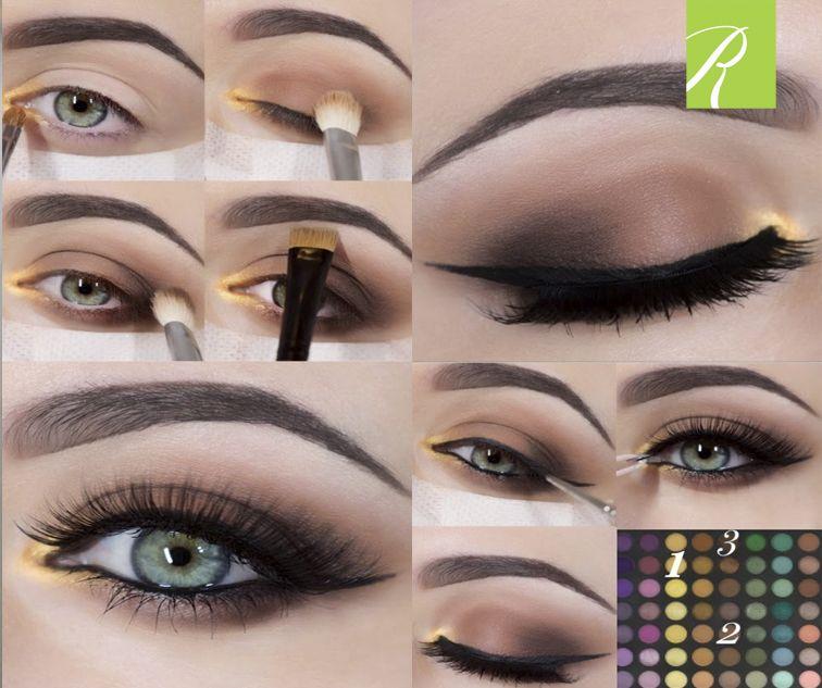 Aqui te presentamos un maquillahe sencillo y facil de hacer. El mismo nos sirve para alargar nuestro ojo. Este sencillo maquillaje lo puedes utilizar para citas formales y ocasiones donde la elegancia y la sencillez sean la orden del día.