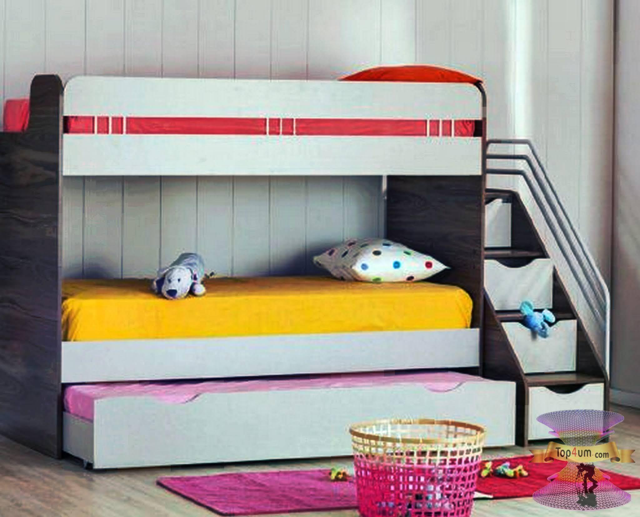 غرف نوم اطفال دورين مودرن Top4 Kids Bunk Beds Bed Bunk Beds