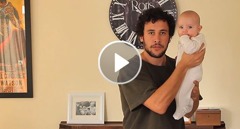 Check out this dad's hilarious advice in a viral video about the 17 ways to hold your baby. #dads #parenting #baby | whattoexpect.com