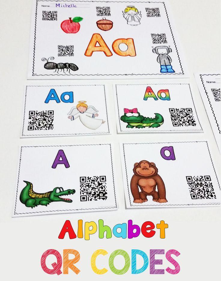 Alphabet Qr Codes  Alphabet Sounds Fun Songs And Qr Codes