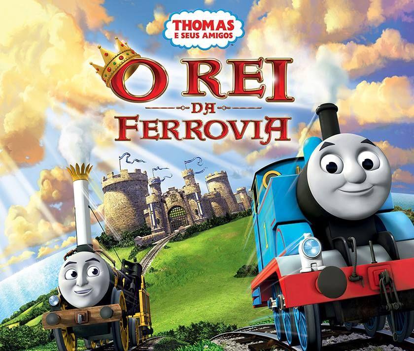 O Rei Da Ferrovia Thomas Seus Amigos Thomas E Seus Amigos