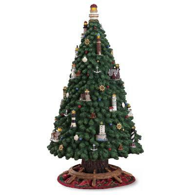 Danbury Mint Lighthouse Christmas Tree - Picked: $12.00 ...