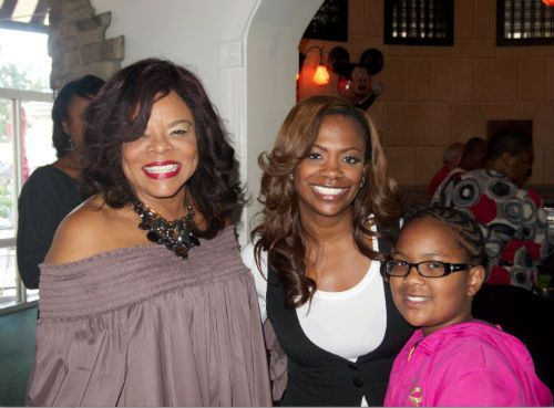Jamie Foster Brown Kandi Burruss And Kandis Daughter Riley