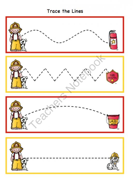firefighter lesson plans for preschool preschool printables fireman toddler printable learning 502
