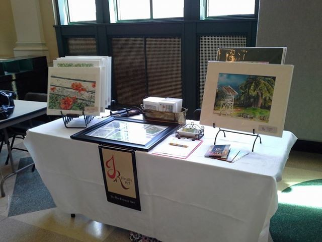 By joining the local Art Guild I'm better able to keep up with the local art scene along with make some great friends and have a great time. http://www.jillraefinallyart.com/index.php