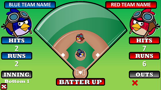 Free MacroEnabled Baseball Trivia Powerpoint Game Template