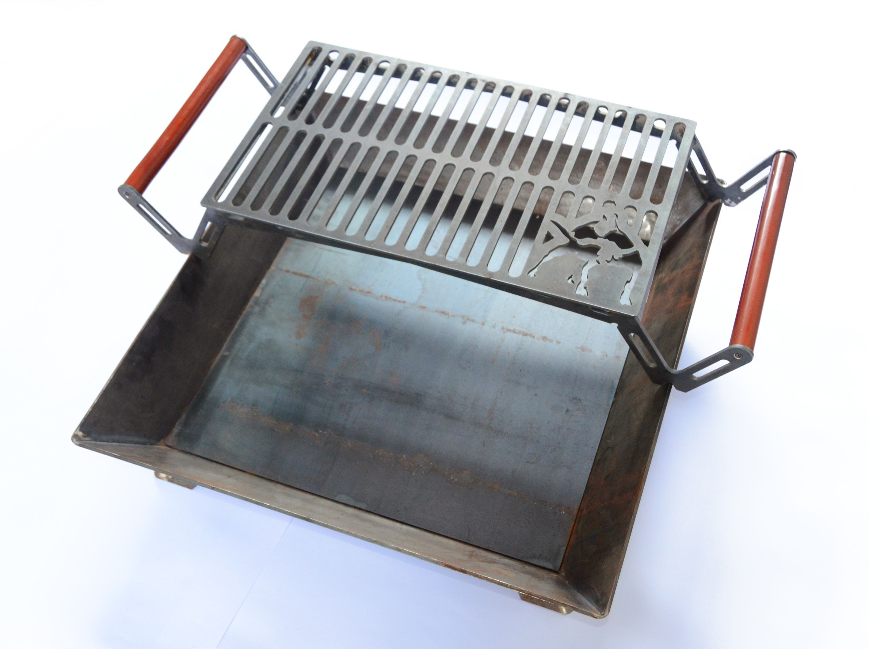 plasma cut torchmate ironpig parilla grill fogón outdoors