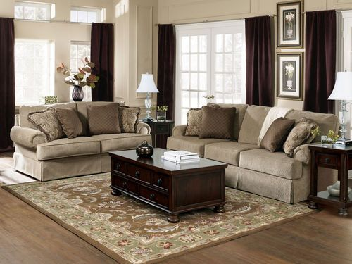 Admirable Sonata Traditional Oversize Fabric Sofa Couch Loveseat Set Gmtry Best Dining Table And Chair Ideas Images Gmtryco