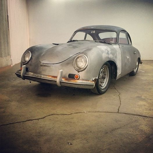 1953 Porsche 356 Pre-A Bentwindow Coupe Project Car
