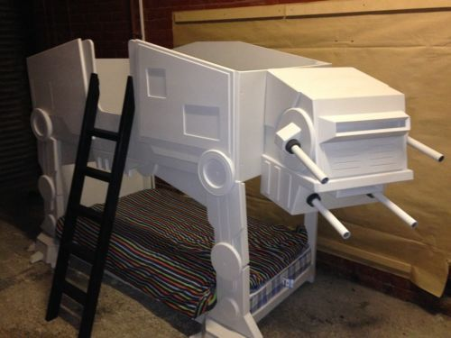 Star Wars Theme AT - AT Bunk Bed | Projets à essayer ...