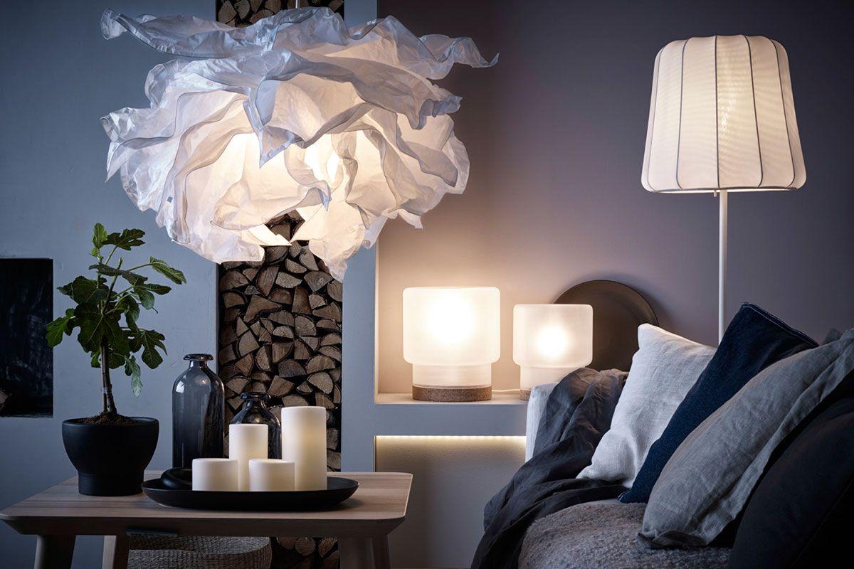 KRUSNING, VARV and SINNERLIG: LED lamps from IKEA