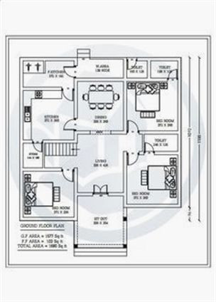 Home designs kerala square sun container floor plans design map also stylish sq ft new bedroom with plan rh pinterest