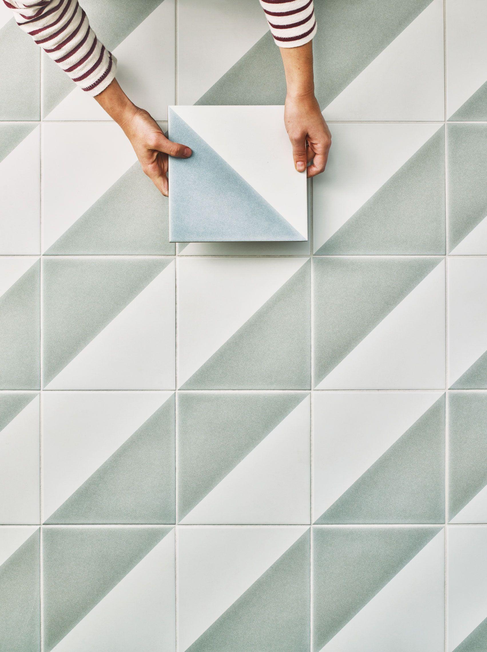pinclaybrook studio on porcelain collection  tile