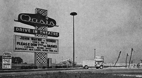 Our Drive In Theater Back In The 60 S On The Oasis Drive In Movie Theater Drive In Theater Drive In Movie