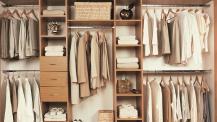 Lovely Ideas For Closet Storage Design Ideas Furniture Ideas Fashionable  Wardrobe Organizers Oak Unfinished Closet Cabinetry Shelving Open Clothing  Hanger ...