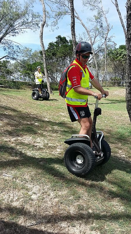Hills abound, segway fun