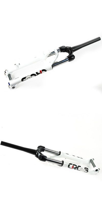 Forks 177815: Manitou Circus Comp Dirt Jumper Fork 100Mm White Tapered 20Mm Thru Axle -> BUY IT NOW ONLY: $179.99 on eBay!