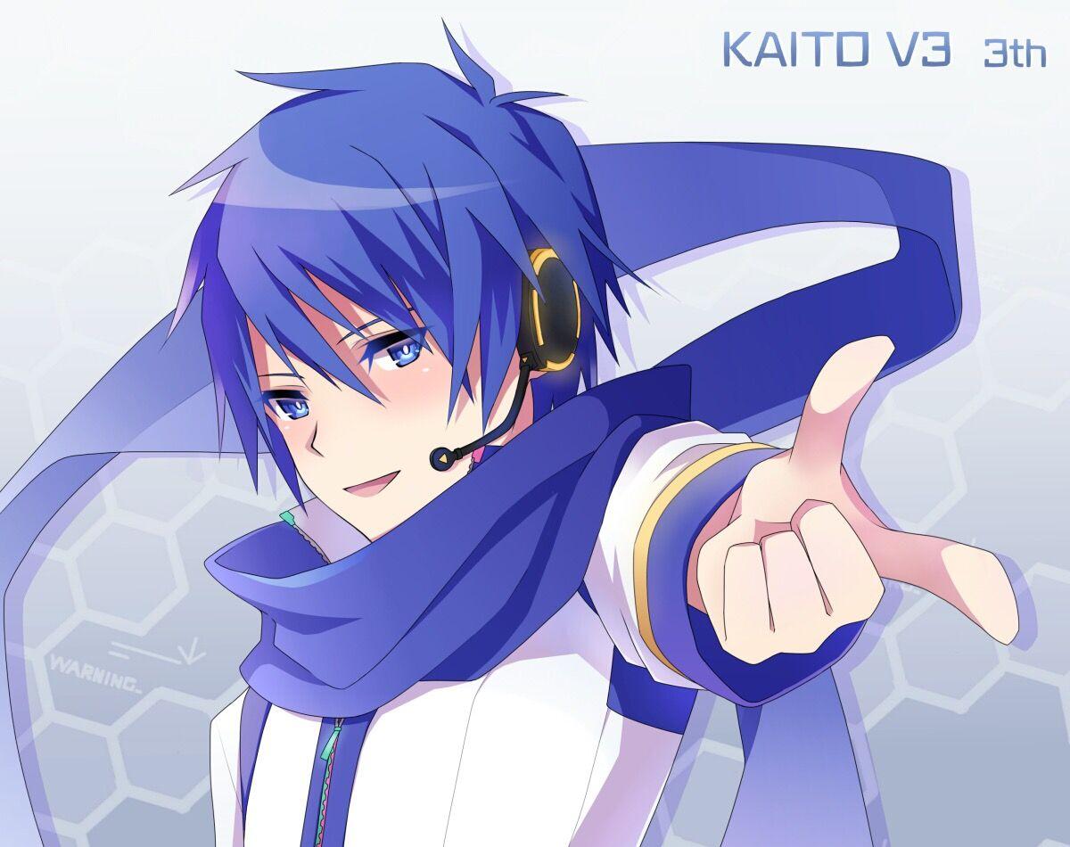 Creds @ あんのん on Pixiv | KAITO | Vocaloid KAITO | Chicas ...Vocaloid Kaito Age