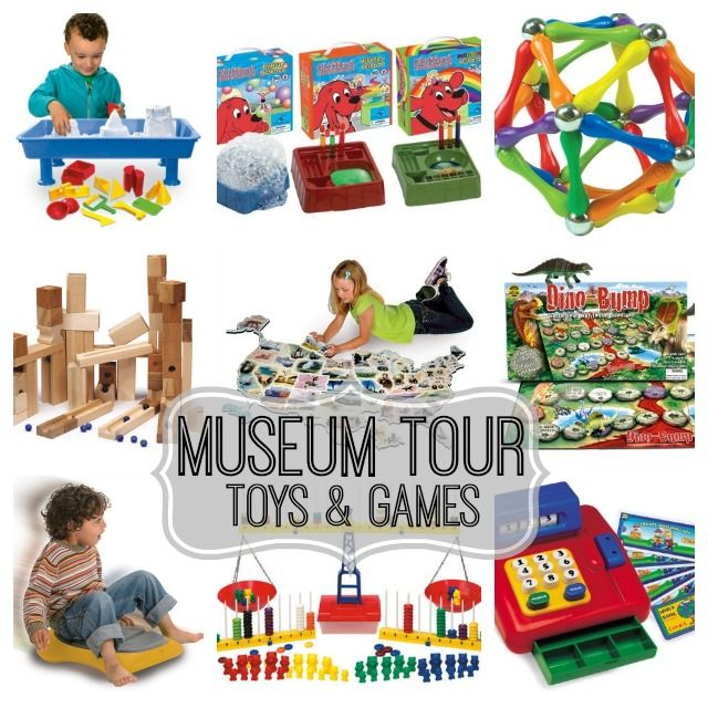 Museum Tour: the best educational toys & games - Baby ...
