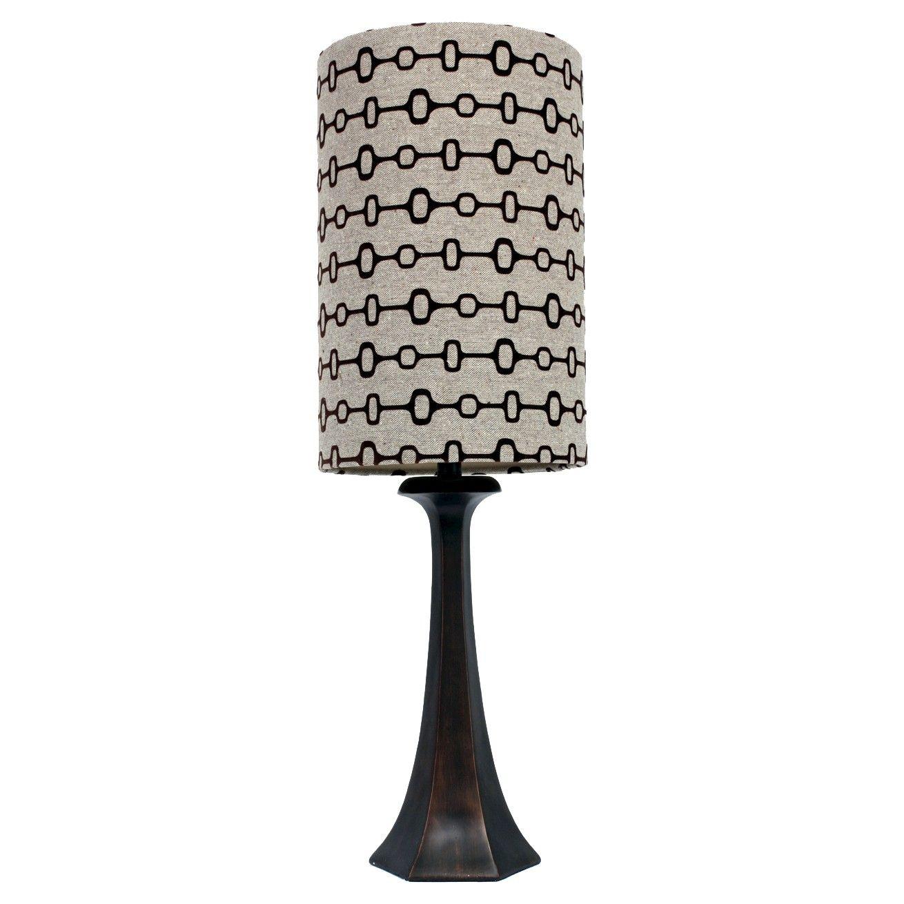 J Hunt Hexagon Table Lamp Steel Taupe Brown 35 Lamp Table Lamp Hexagon
