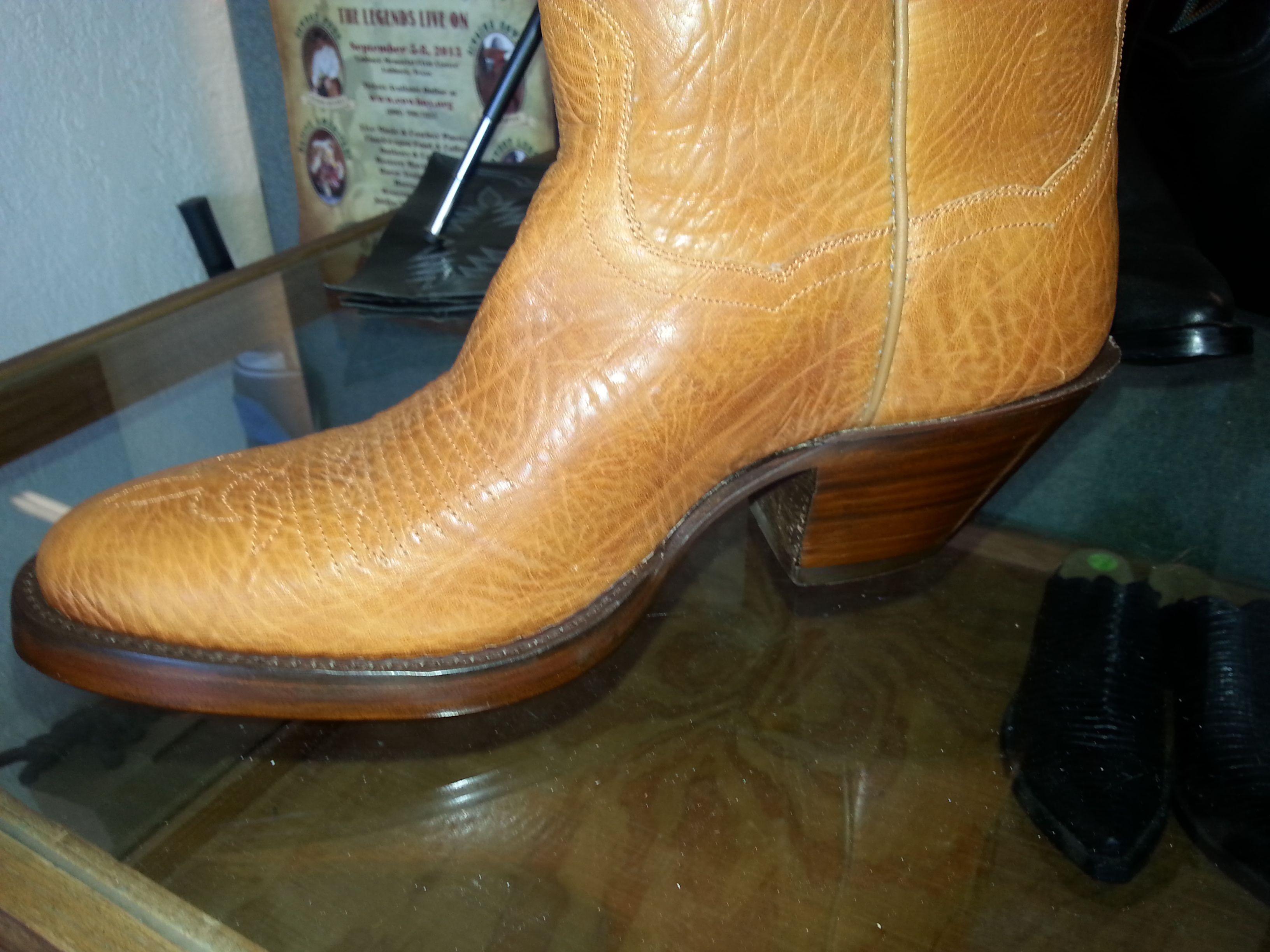 Custom Cowboy Boots Bullhide Double Leather Sole