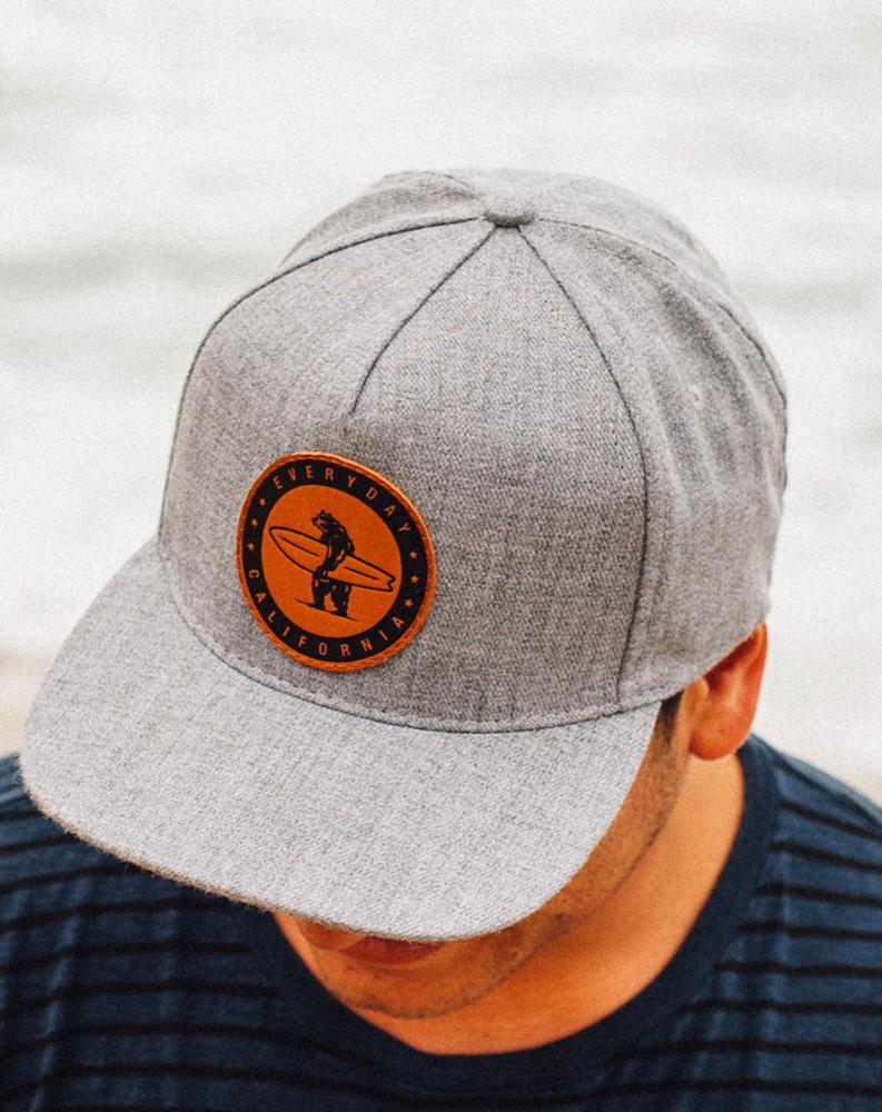 Marine Layer Hat Designs Baseball Caps Fashion Grey Snapback