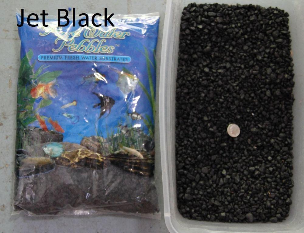 Jet Black 5 Lbs Aquarium Fish Tank Gravel Pure Water Pebbles Color Rocks Ebay Pebble Color Fish Tank Gravel Aquarium Fish Tank
