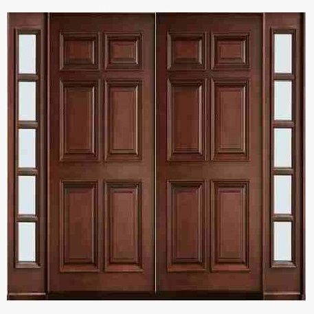 This Is Yellow Pine Wood Main Double Door Design With Carving Code Is Hpd576 Product Of Doors Imported Wood Doors Interior Home Door Design Doors Interior