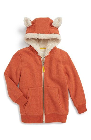 Mini Boden x Roald Dahl Mr. Fox Hoodie (Toddler Girls, Little Girls & Big Girls) available at #Nordstrom