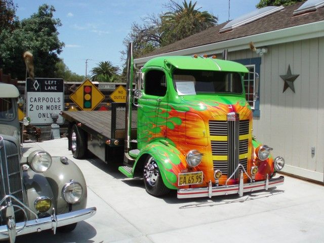 1938 Gmc Coe Randys Bomb Shop Old Trucks Coes Trucks Old