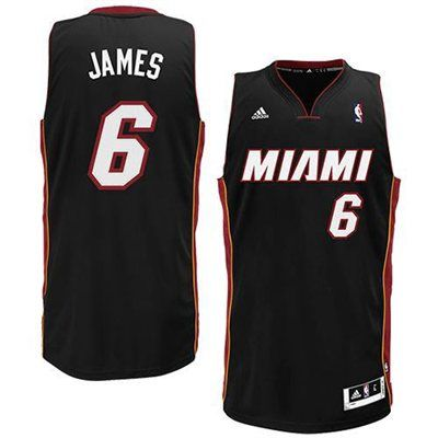 finest selection 15e3f 21a75 adidas LeBron James Miami Heat Youth Revolution 30 Swingman ...