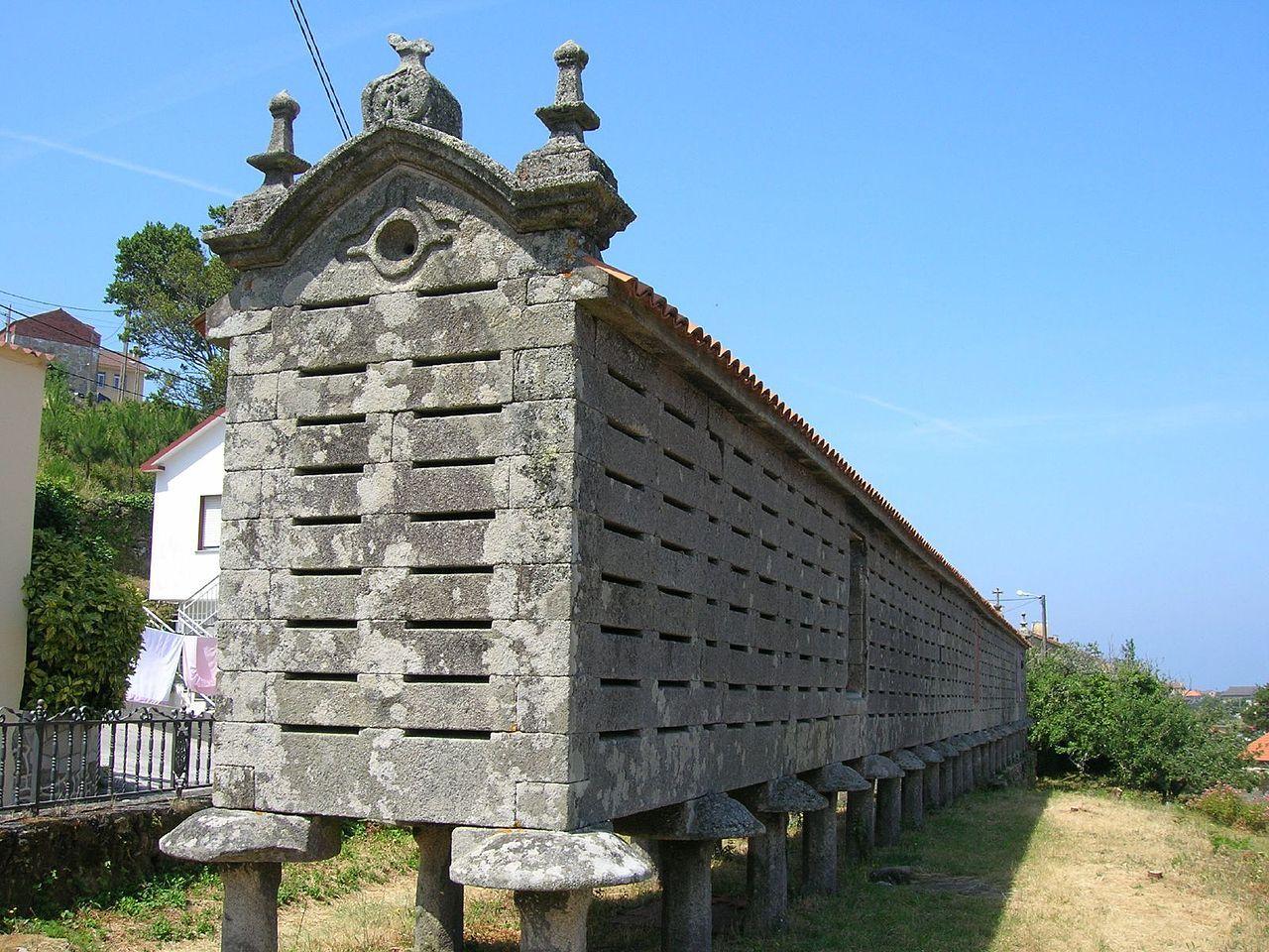 Galician Granary Leaning Tower Of Pisa Galicia Adventure Travel