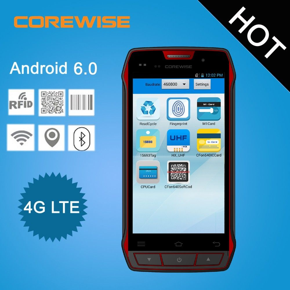 Android portable access control nfc card long distance uhf rfid