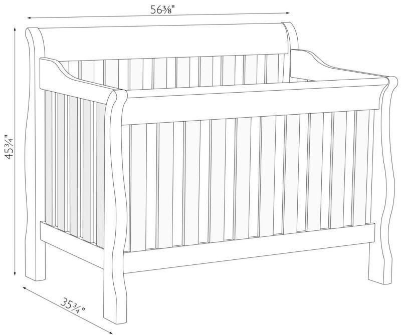 Classic Baby Crib Dimension 102 Baby Cribs Cribs Baby