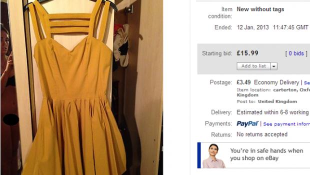 Aimi jones yellow dress ebay