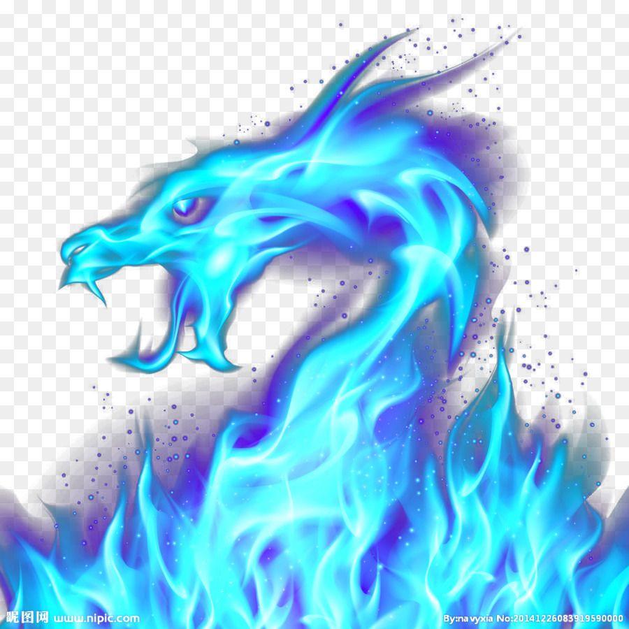 Dragon Fire Blue Illustration Blue Dragon Dragon Illustration Dragon Silhouette Fire Dragon