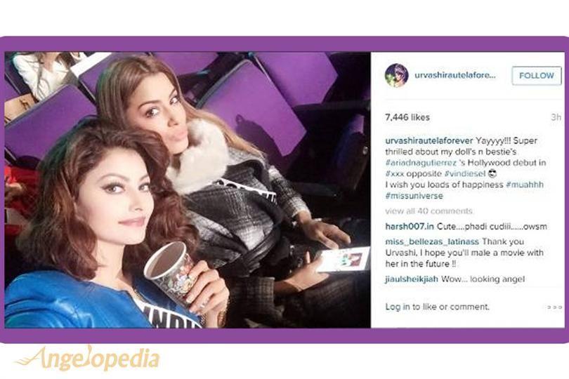 "Urvashi Rautela on Ariadna Gutierrez' Hollywood Debut – ""Yayyyy!!! Super thrilled"""