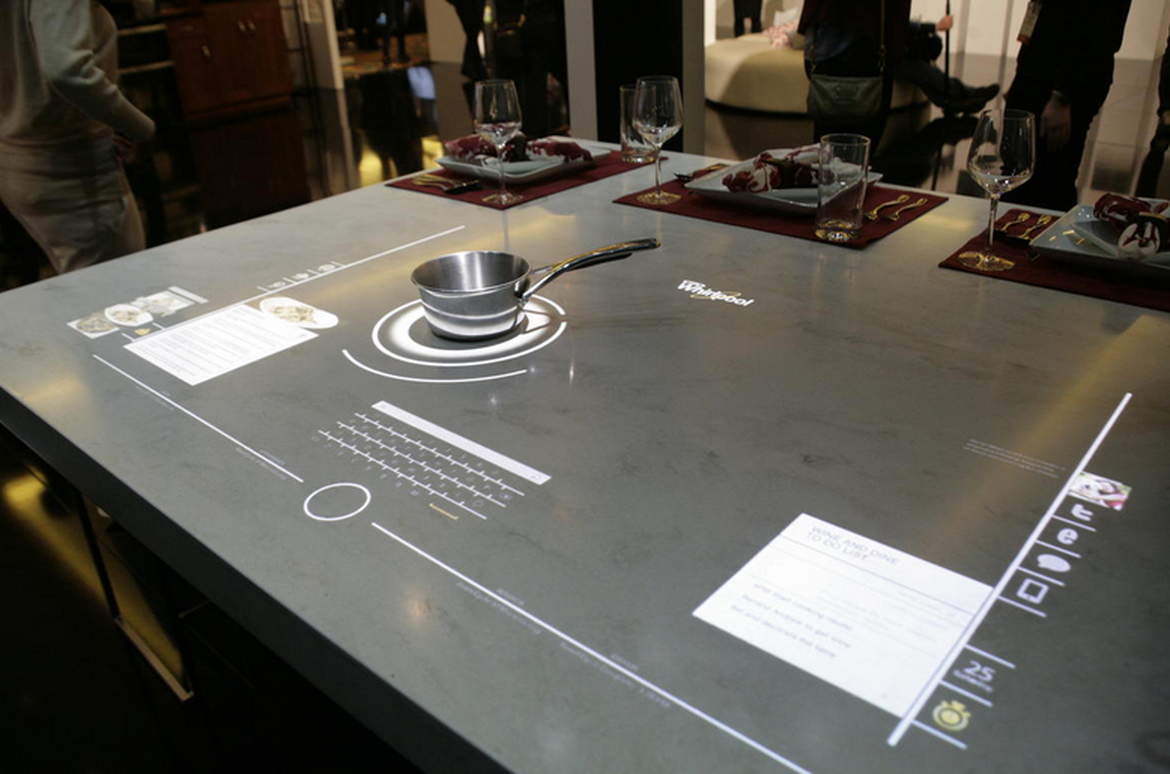 This Back To The Future Tech Is Closer Than You Think Smart Kitchen Connected Home Futuristic Home