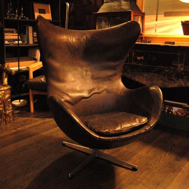 Vintage Arne Jacobsen Egg Chair 3