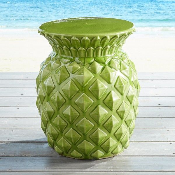 Marvelous Pier 1 Imports Pineapple Garden Stool 130 Liked On Ocoug Best Dining Table And Chair Ideas Images Ocougorg