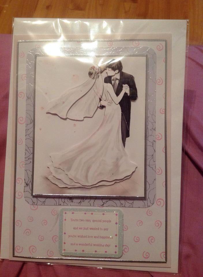 A5 Wedding Card