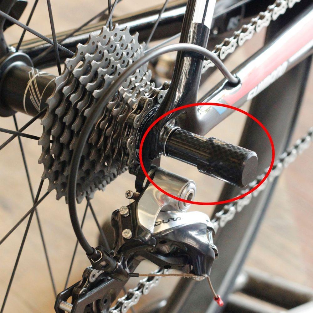 Fouriers Carbon Bike Rear Derailleur Protector Guard Mount On